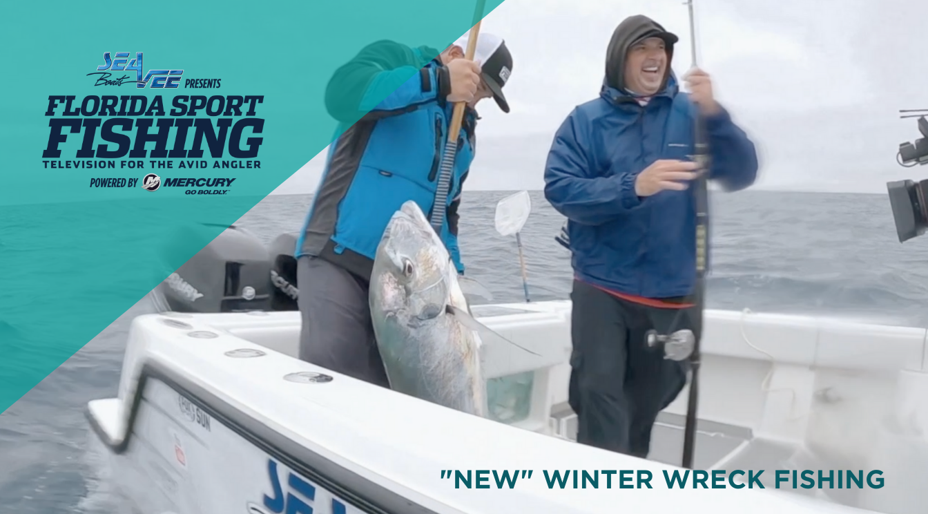 "Florida Sport Fishing TV Episode 1 – ""NEW"" Winter Wreck Fishing"