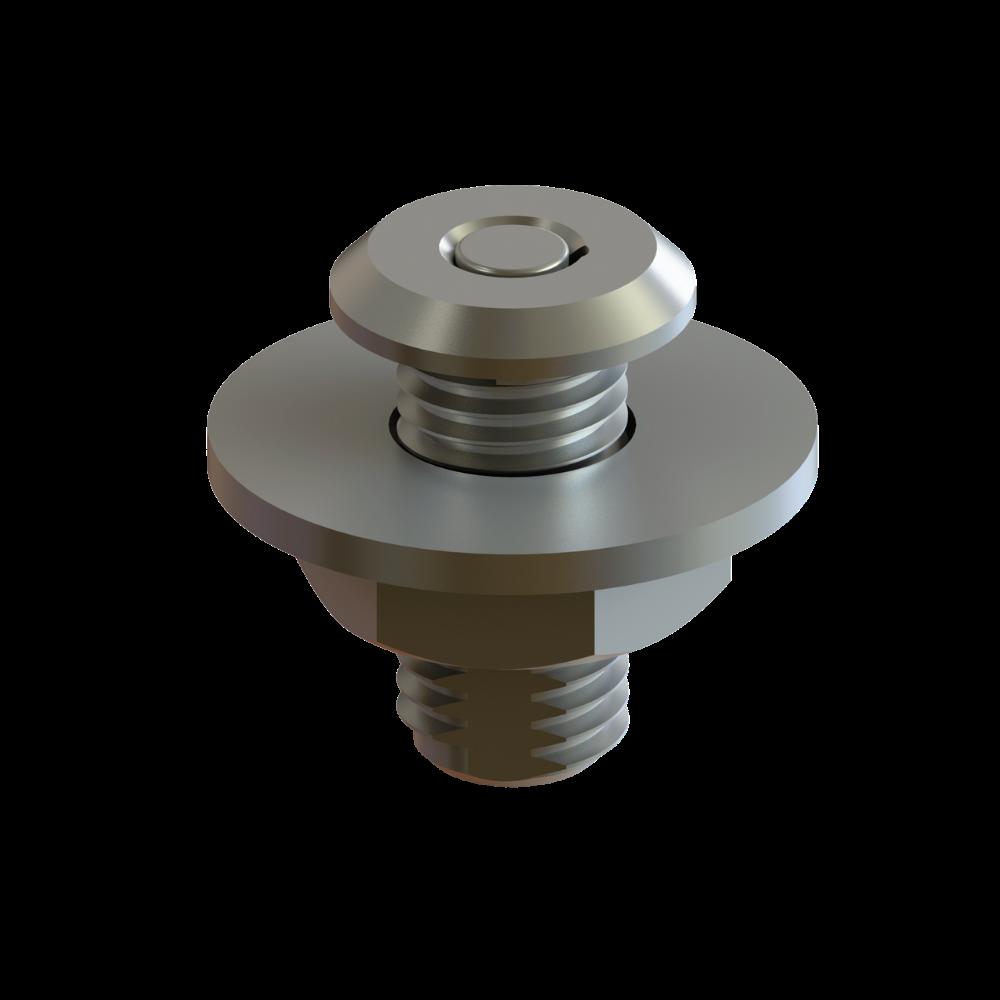 TACO Marine F16-0201 Pontoon Fender Lock Receiver for Fiberglass render
