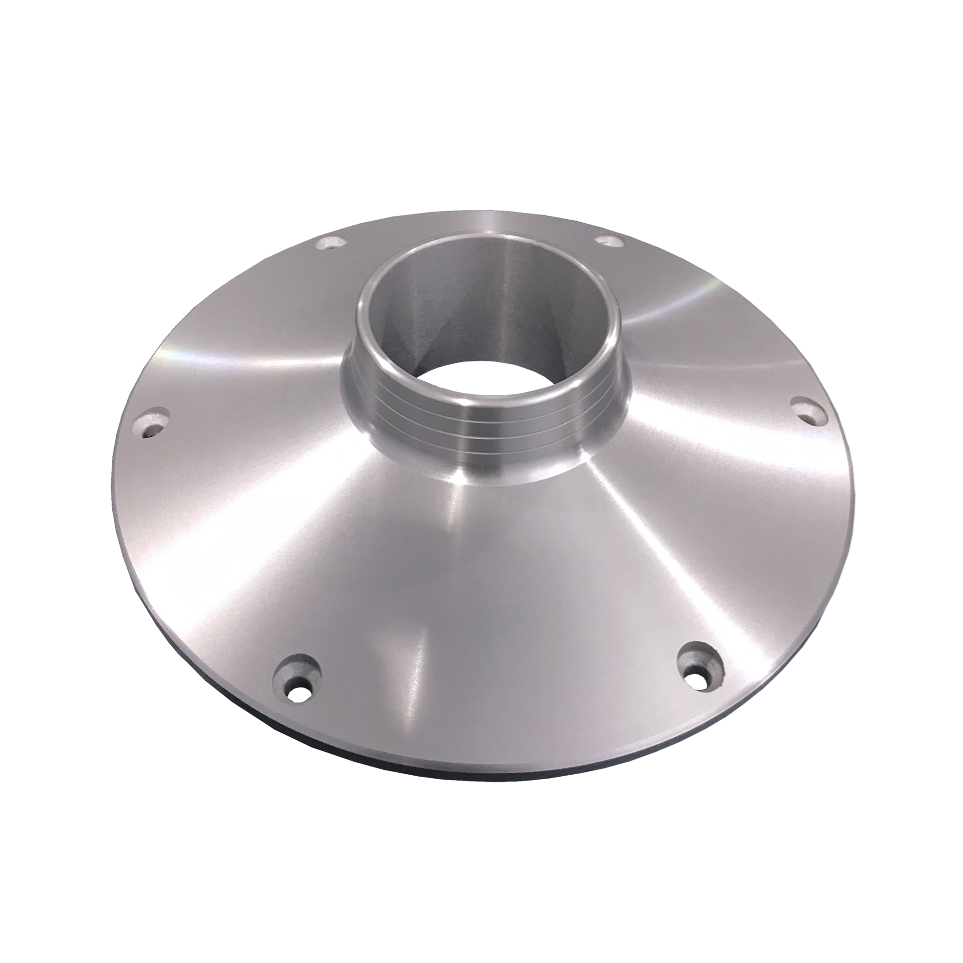 """TACO Marine Z10-4075 ALUMINUM TABLE BASE OR SUPPORT, SURFACE MOUNT FOR 2-3/8"""" DIA COLUMN image 1"""